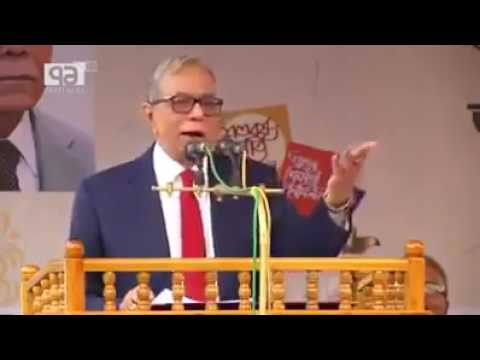 Funny Speech by President Abdul Hamid