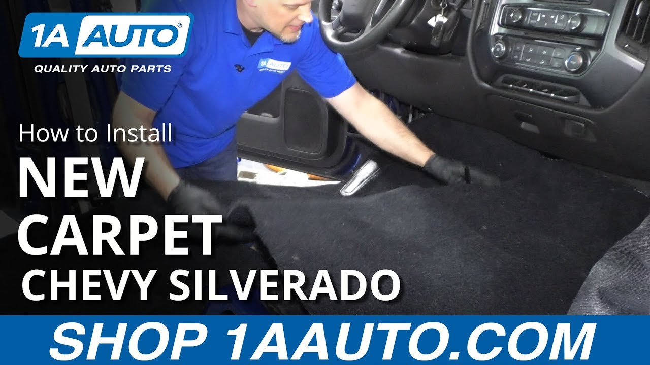 How To Install New Carpet 14 15 Chevy Silverado 1500 Youtube
