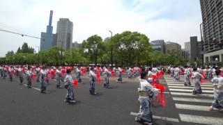 今年の神戸まつりにて、神戸開港150年を記念して、50年ぶりに新しい音頭...