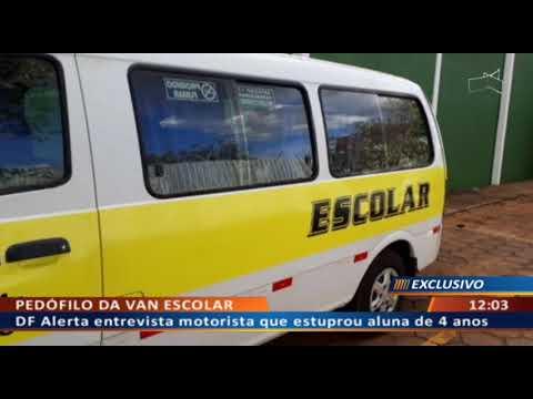 DFA - Motorista de transporte infantil estupra aluna de 4 anos