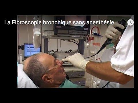 Fibroscopie bronchique sans