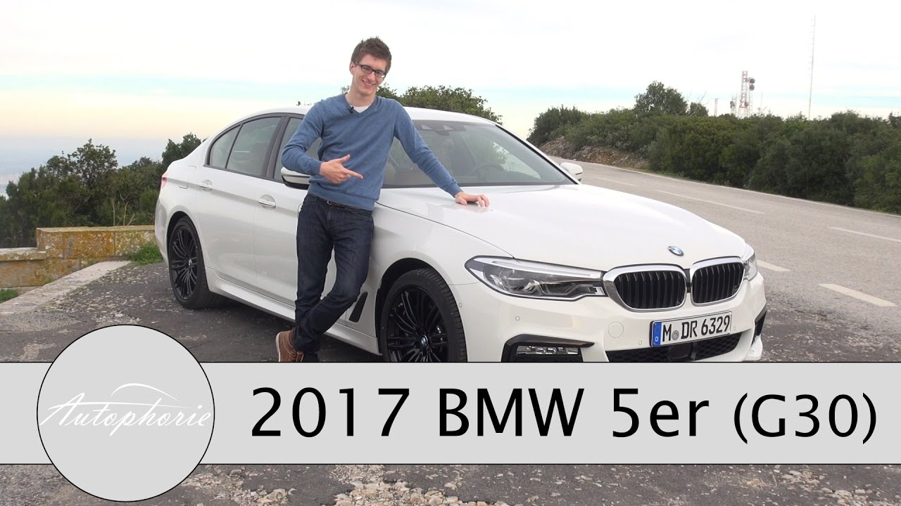 2017 bmw 5er g30 bmw 540i und bmw 530d xdrive test. Black Bedroom Furniture Sets. Home Design Ideas