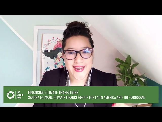 Lightning Talk – Financing Climate Transitions