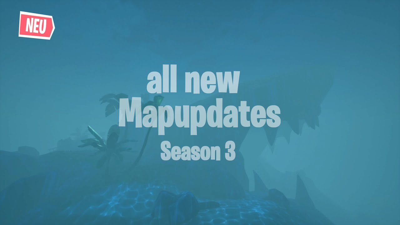 "Alle ""NEUEN"" MAPUPDATES in Fortnite SEASON 3 🔥 (Fortnite Season 3)"