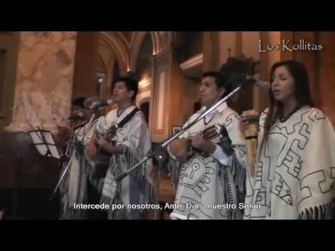 Canto a la Virgen de Copacabana - Los Kollitas - (P 11/14)  Catedral Bs. As. 22-02-2015
