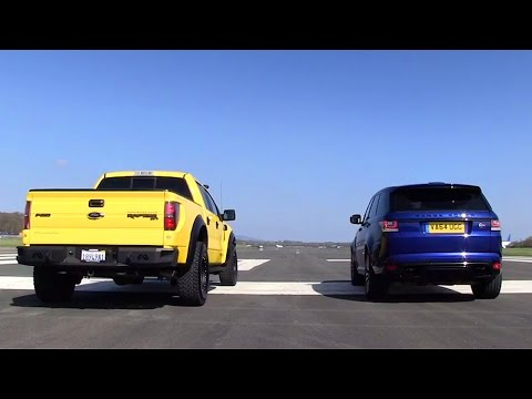 Top Gear pits Hennessey VelociRaptor vs. Range Rover Sport SVR