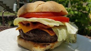 The Perfect Hamburger  - How to Make and Grill the Perfect Hamburger - The Hillbilly Kitchen