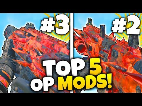 TOP 5 MOST BROKEN OPERATOR MODS in Black Ops 4.. (COD BO4)