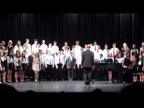 Millard north high school choir concert