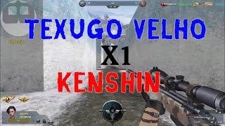 X1 TEXUGO X KENSHIN - BLOOD STRIKE - TEXUGO VELHO