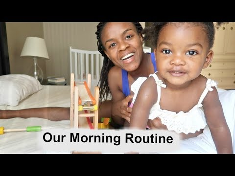 Morning Routine with a Toddler - Real Mom Life - 동영상