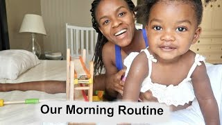 Morning Routine with a Toddler | Real Mom Life