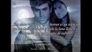 Enrique Iglesias - Me cuesta tanto olvidarte ( Letra ).
