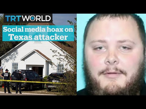 Fake news about Texas church attack