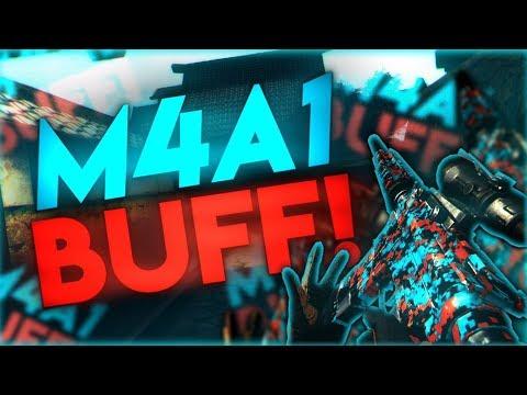 Bullet Force - I ReKT EVERYONE! - M4A1 Buff Gameplay