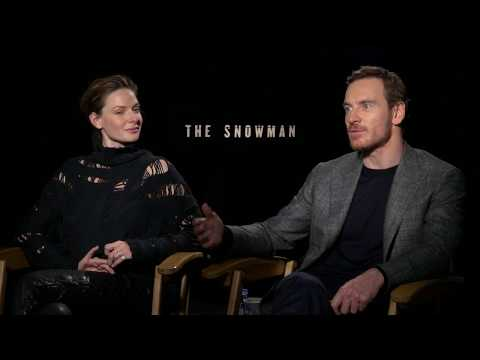 Fun With Michael Fassbender & Rebecca Ferguson  The Snowman