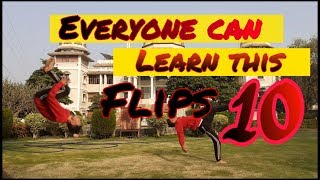 10 Flips Anyone Cąn Learn ..