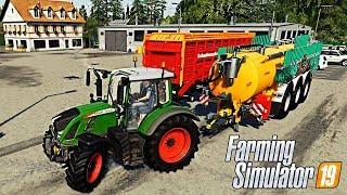 FARMING SIMULATOR 19 #16 - COMPRO CARRIBOTTE LIQUAME + CASSONE DA CARICO w/Robymel81 - NF MARSCH ITA