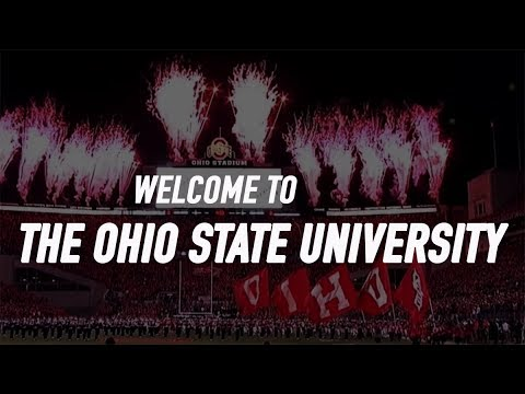 WELCOME TO OHIO STATE // (Campus Drone Tour)