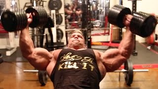 FREAK CHEST TRAINING - PAULO THE FREAK KILLIN SHIT - Rich Piana