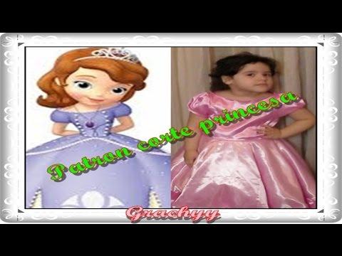 Moldes de vestidos corte princesa gratis