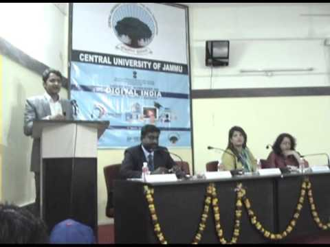 NSS Unit of the Central University of Jammu organised Workshop on Digital India