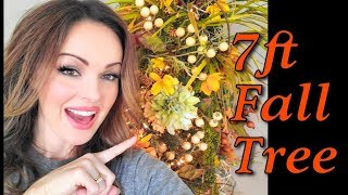New! 7ft Fall Tree for Autumn 2019