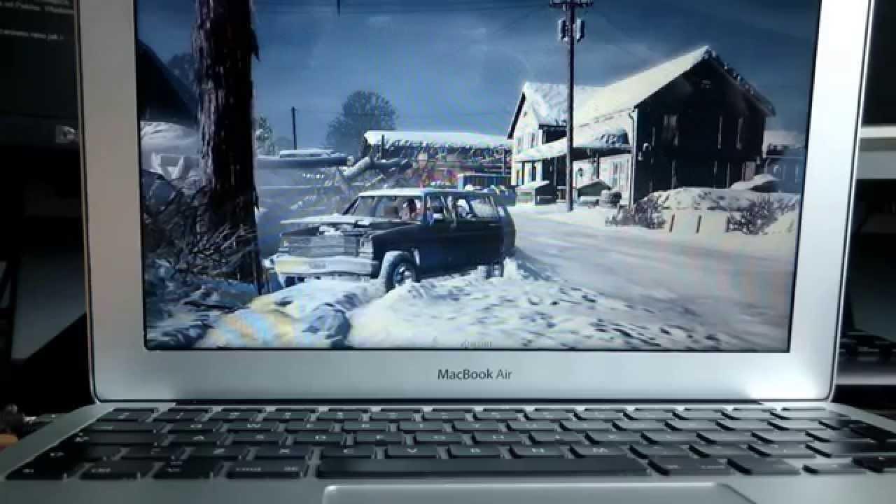 Gta V On Macbook Air 11 I5 1 3 4gb Intel Hd Graphics 5000 Youtube