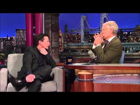 Michael J  Fox on David Letterman 12 November, 2013 Full Interview
