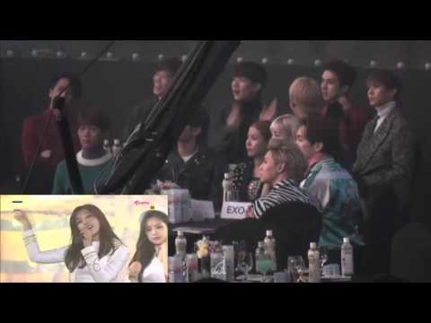 Shinee,Taeyeon, Boa & Vixx Reaction Apink @Seoul Music Awards 2016
