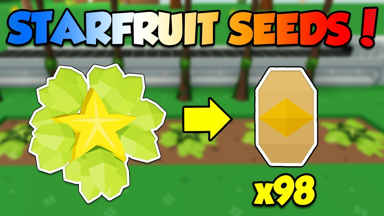 How To Get Starfruit Seeds Fast In Roblox Sky Block Skyblox