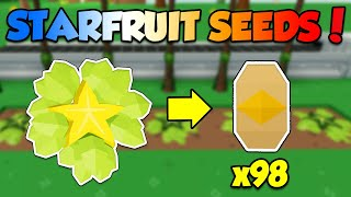How to get Starfruit Seeds Fast in Roblox Sky Block! *SKYBLOX*