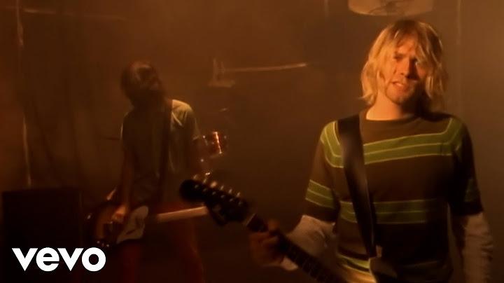 nirvana  smells like teen spirit official music video