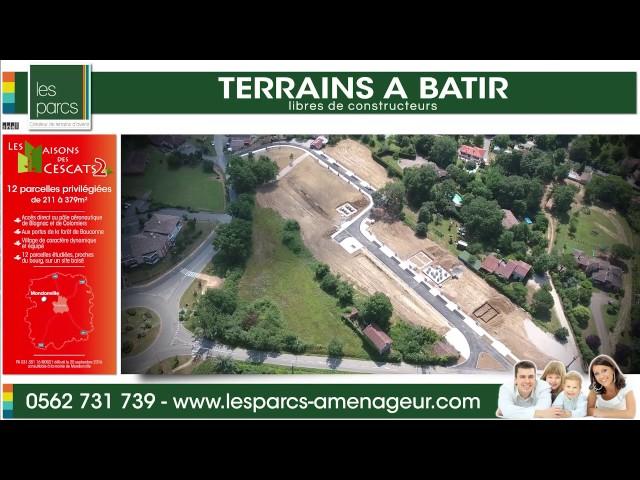 Les Maisons des Cescats 2 - Les Parcs <br/>2 vols et 1 montage : 1000€ ht <br/>