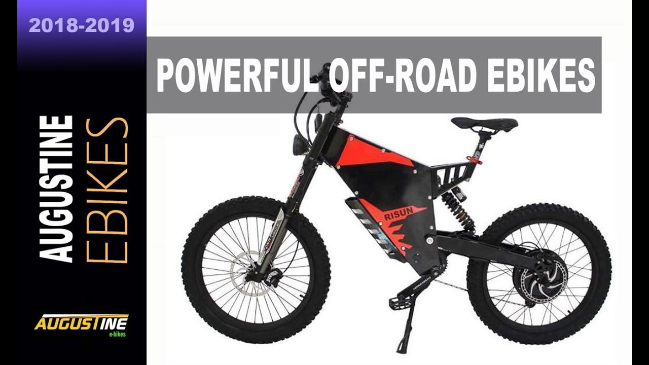 2 Incredibly Powerful Off Road Ebikes available on Amazon now!