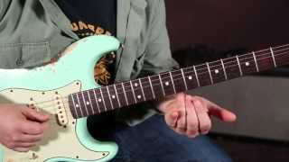 Jimi Hendrix - Red House - How to Play the opening intro - Blues Guitar Lessons