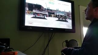 Lowrider video game with actual hopping switch