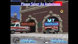 Emergency Call Ambulance SEGA 1999 - Gameplay [ECA]