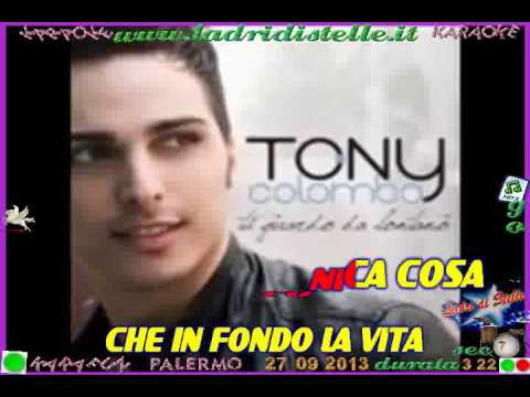 Tony Colombo - Ti guardo da lontano (karaoke - fair use)