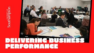 Driving Business Performance @ Southampton University