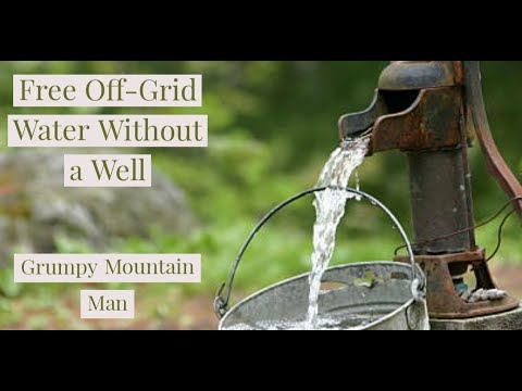 Off Grid Water No Well Needed-Rain Harvesting And Spring Water Collection For Homestead Drinking H20