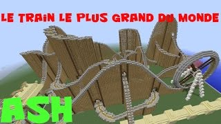 Minecraft | Le train le plus long du monde | TEASER. (+ Map Download)