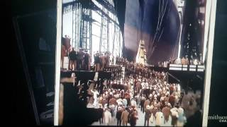 Launch of the Titanic, May 31, 1911