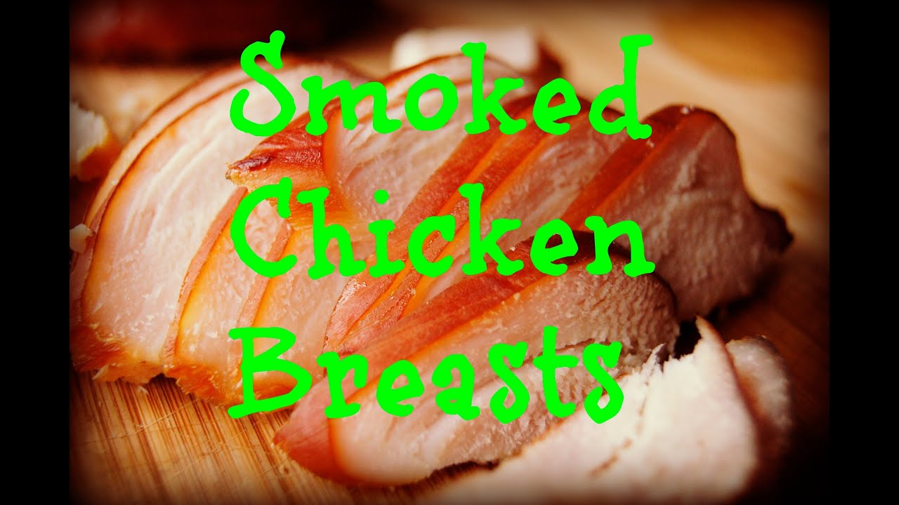 chicken smoke breast to how