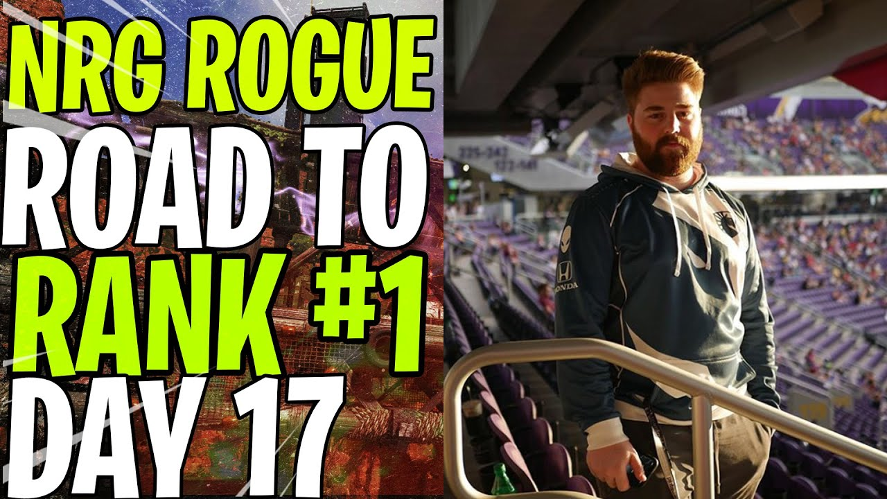 """NRG ROGUE - ROAD TO RANK #1 DAY 17 - """"R-301"""" THE BEST !! 1vs4 !"""