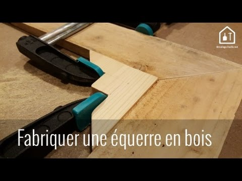 tutoriel fabriquer une querre en bois de r cup bricolage facile youtube. Black Bedroom Furniture Sets. Home Design Ideas