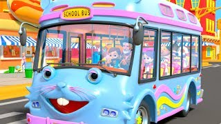 Wheels on the Bus | I Spy Game Song & Kids Rhymes by Little Treehouse
