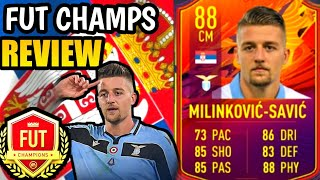 FIFA 21 MILINKOVIC SAVIC HEADLINERS PLAYER REVIEW TESTED IN FUT CHAMPS