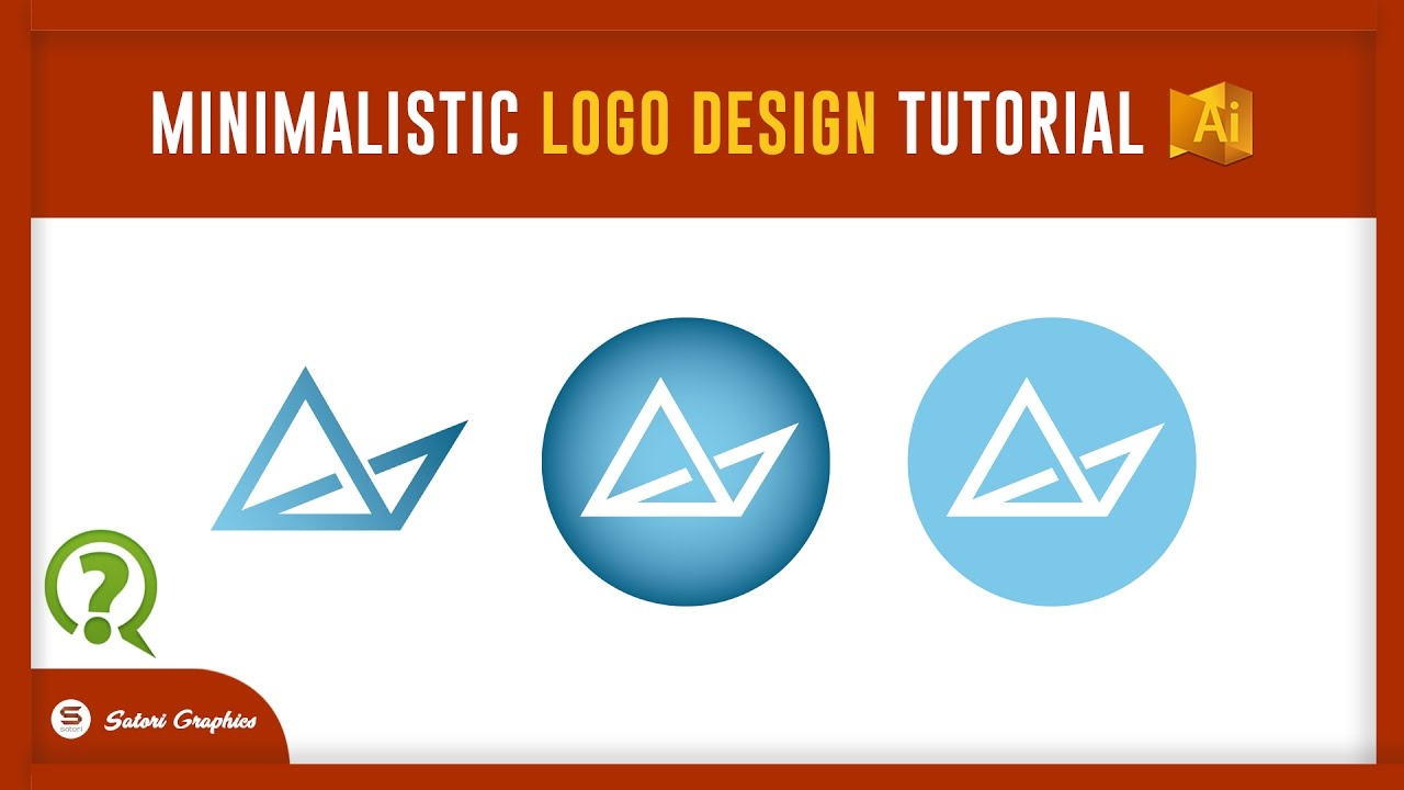 MINIMALIST GEOMETRIC LOGO DESIGN ILLUSTRATOR TUTORIAL