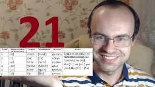ПРАКТИЧЕСКИЙ КУРС ЧТЕНИЯ И ПРОИЗНОШЕНИЯ  УРОК 21 Английский язык  Уроки английского языка